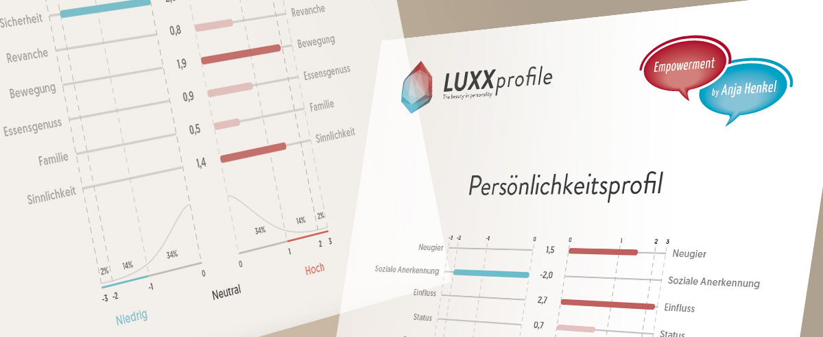 LUXXprofile - individuelle Auswertung